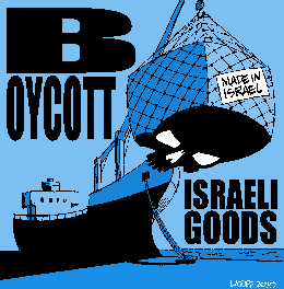 Boycott Israel cartoon