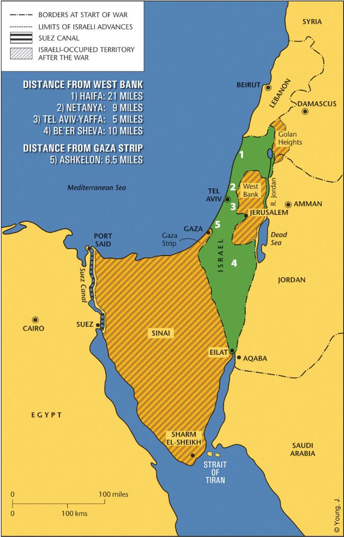 Israel SixDay War and 1967 Borders Jewish Federation of
