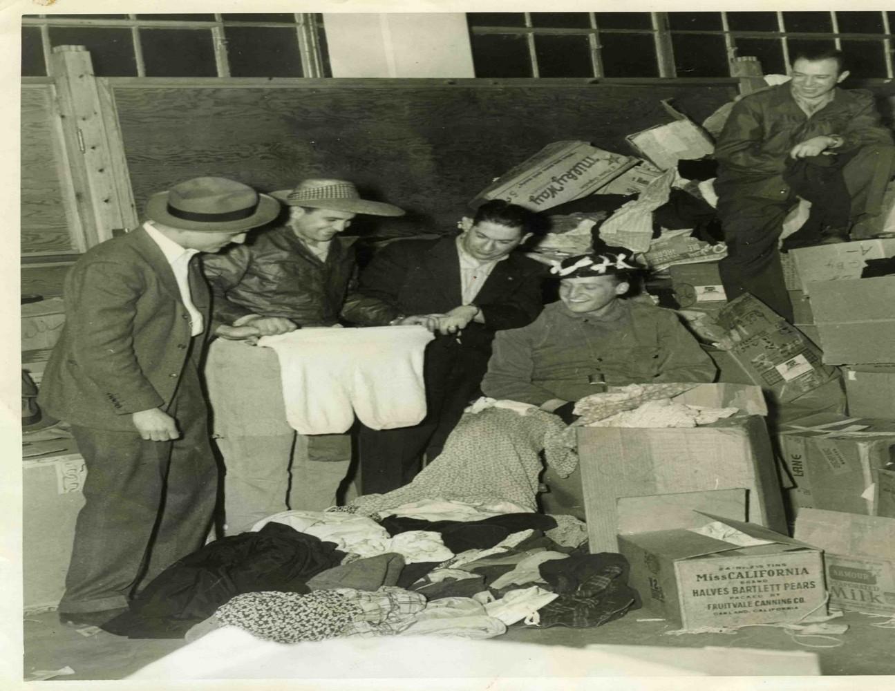 JWV rummage 1946