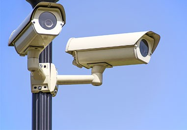 Security-cameras-secure-local-facilities