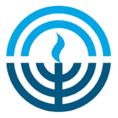 Circle portion of Jewish Federation of Northeastern New York logo