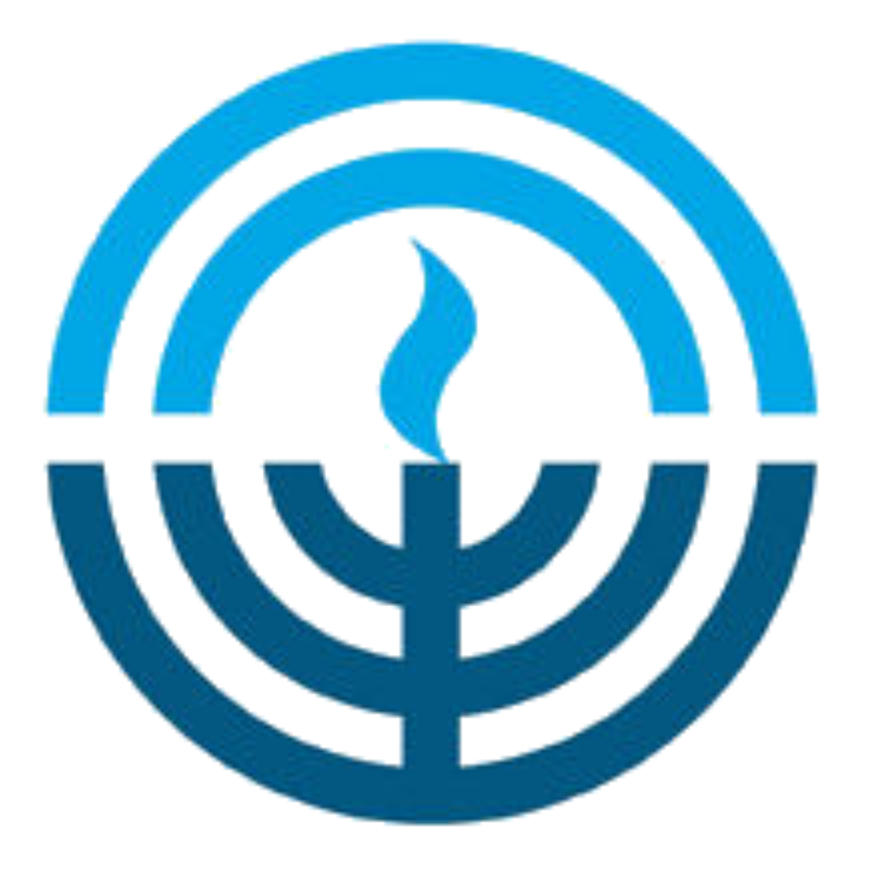 Circle portion of Jewish Federation of Northeastern New York logo