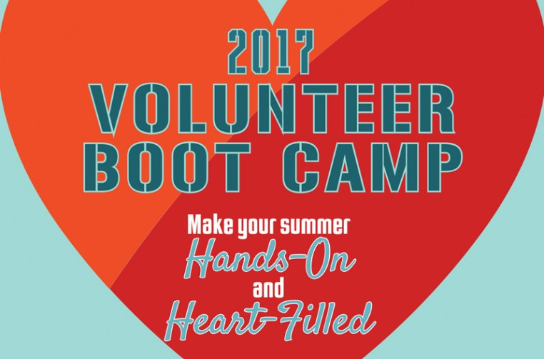 Volunteer Boot Camp 2017