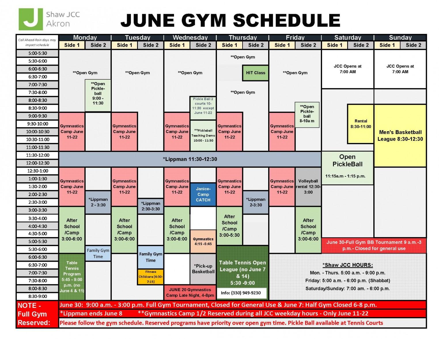 June summer 2018. Gym Schedule.jpg