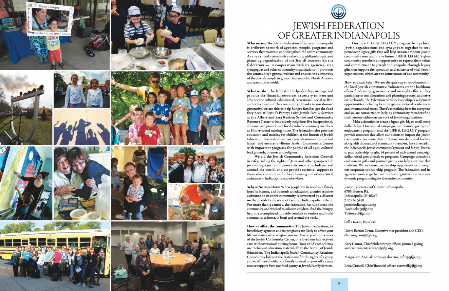 About Us | Jewish Federation of Greater Indianapolis, Inc