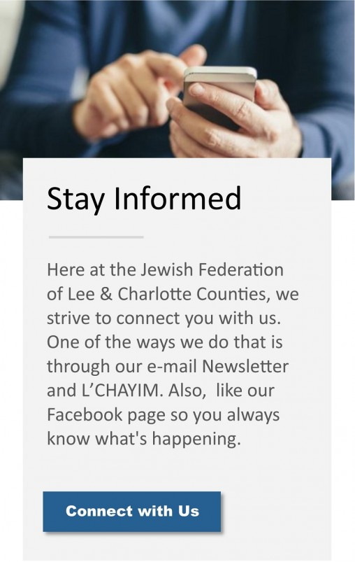 Home | Jewish Federation of Lee & Charlotte Counties