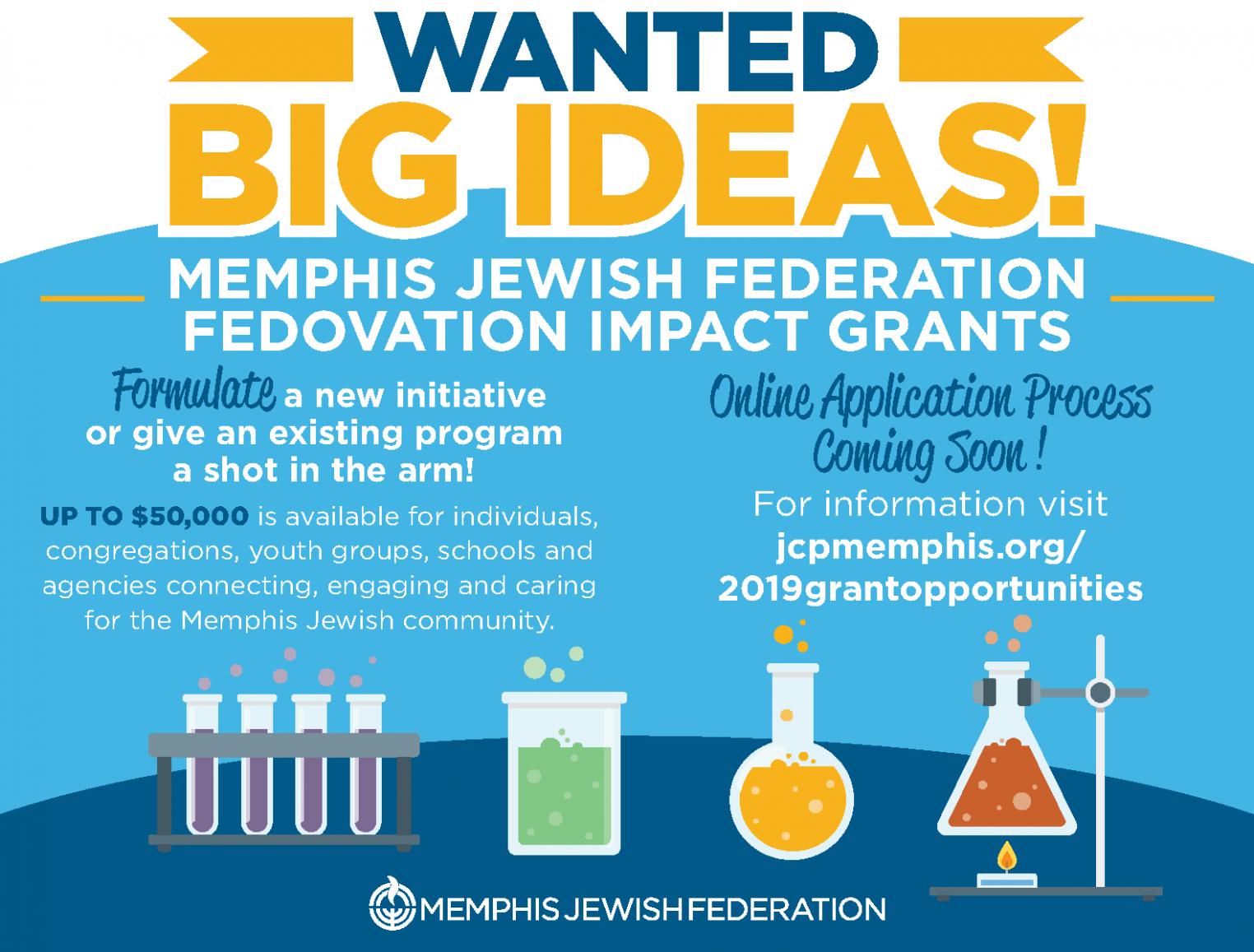 Fedovation Grants | Jewish Community Partners