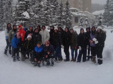 Group of Grade 9 Israeli Students in Calgary - JFC-UIA 2015 Annual Report