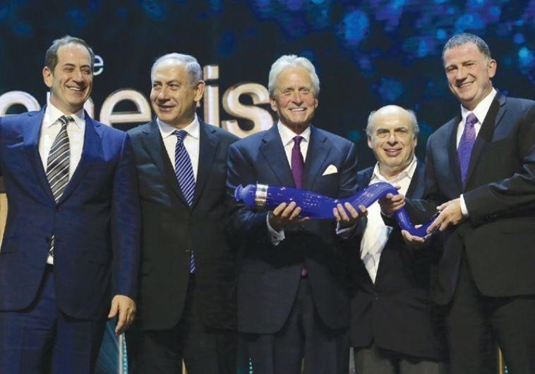 michael douglas genesis prize