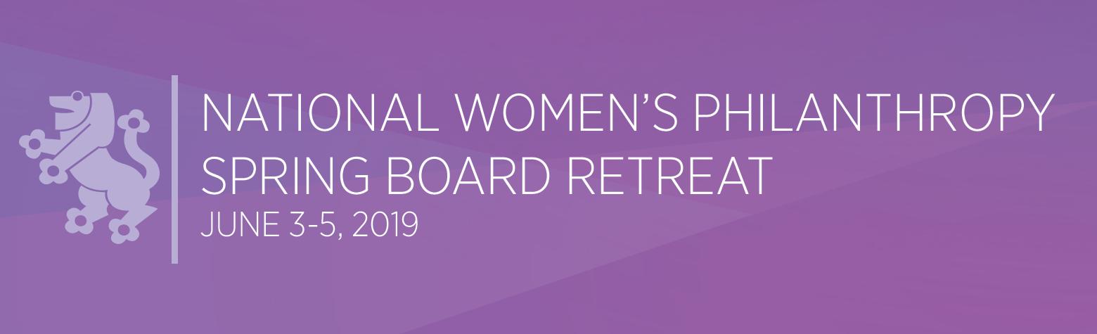 National Women's Philanthropy Board Retreat | United Jewish