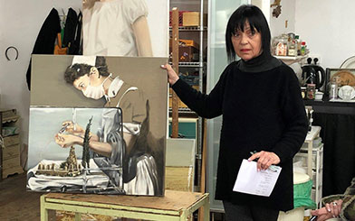 Painter Haya Graetz Ran.jpg