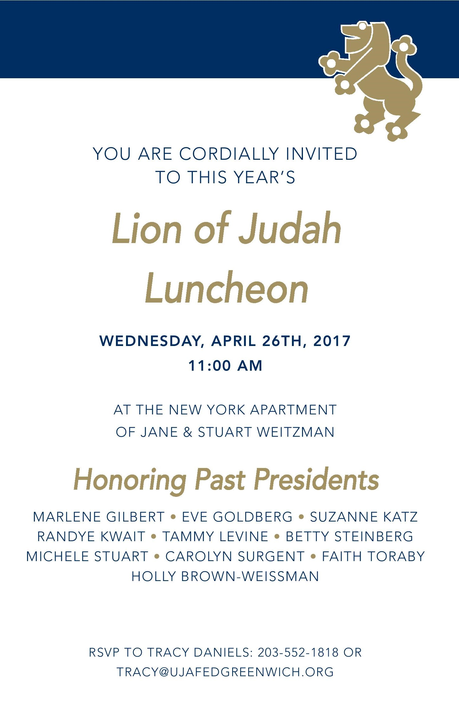 Lion of Judah 2017