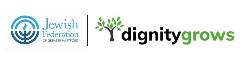 Dignity Grows logo lockup