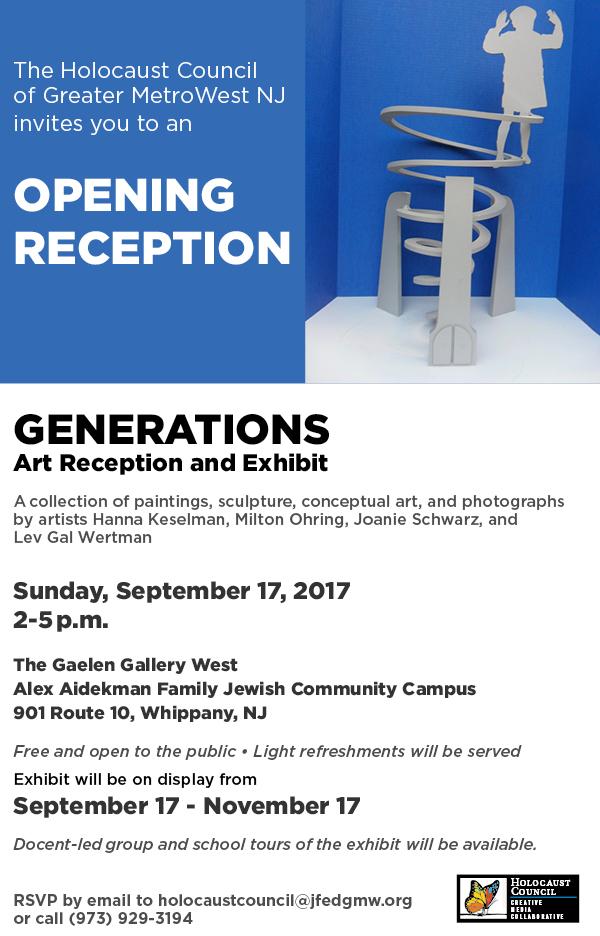 Generations Art Reception and Exhigit