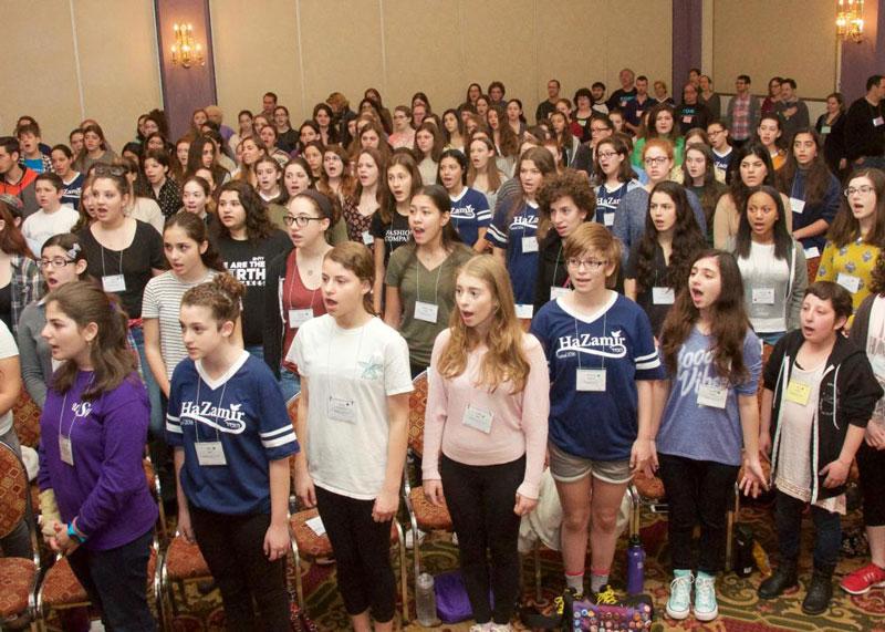 HaZamir Brings Jewish Teen Voices Together
