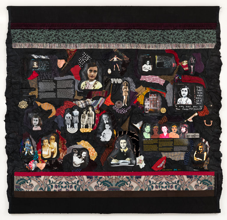 """""""Holocaust Heroes"""" tapestry"""
