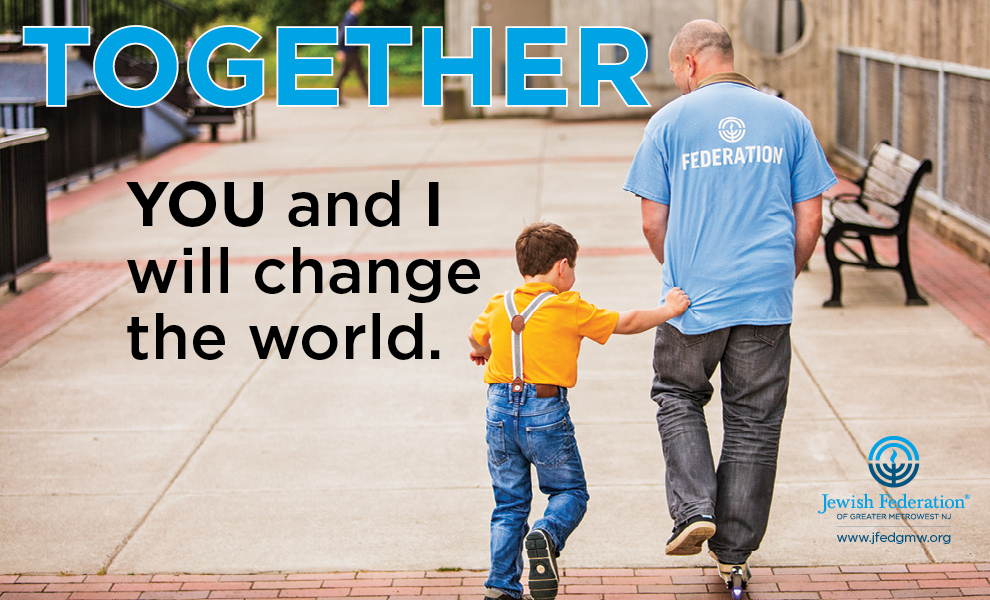 Together YOU and I will change the world