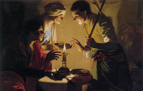 Hendrick ter Brugghen, Esau Selling His Birthright, c. 1627.