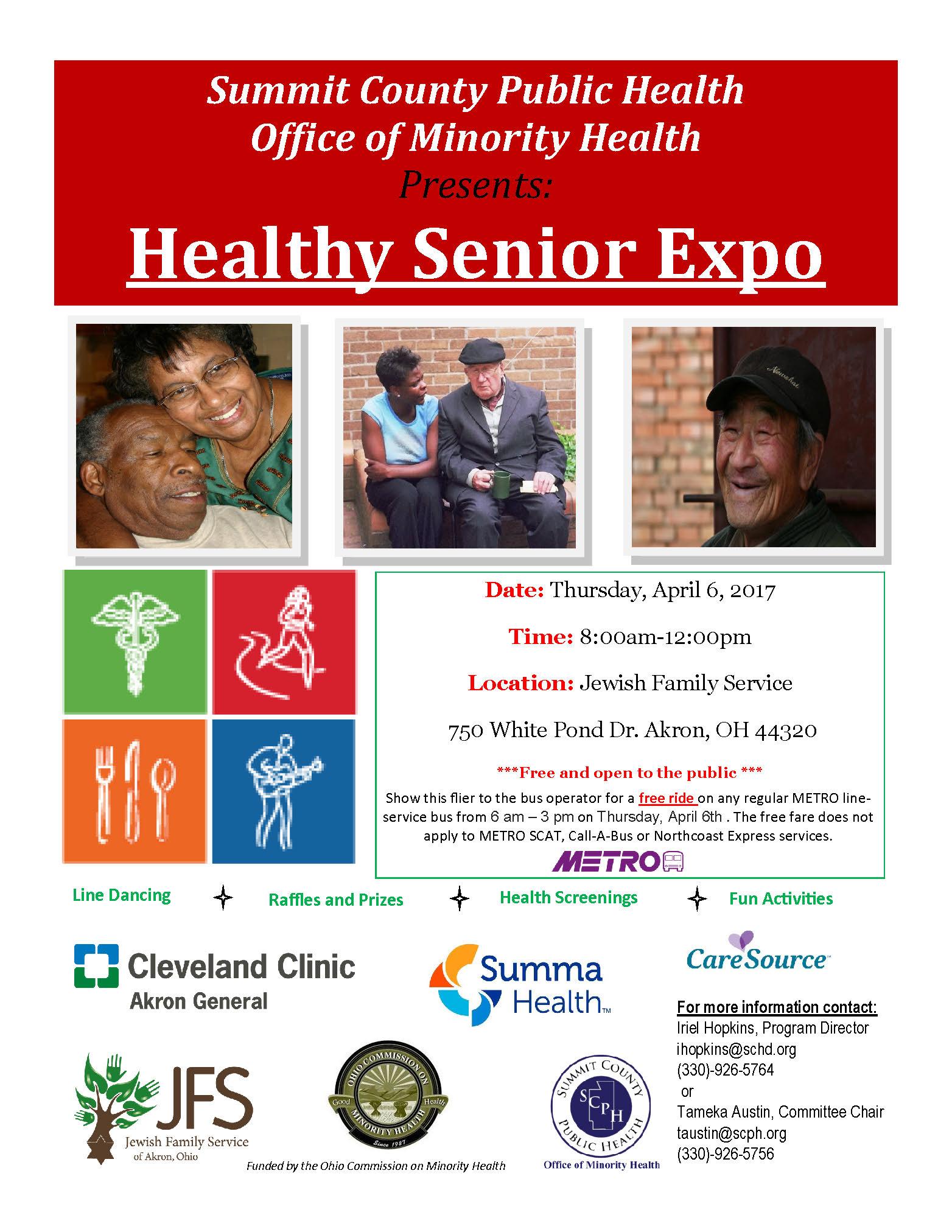 Healthy Senior Expo | Jewish Family Service of Akron