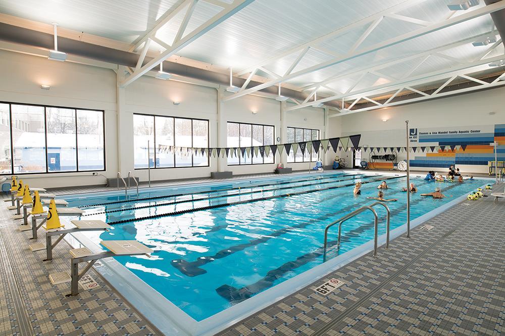 Indoor Pool 6 Lane 25 Yard Shallow End 3 Feet Deep 86 000 Gallon
