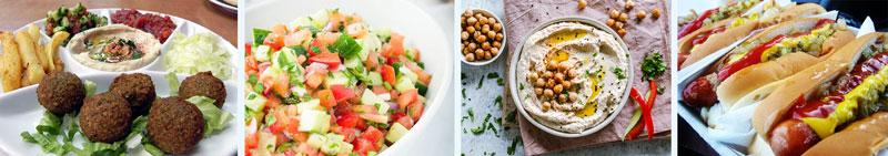 food at israelfest 2019