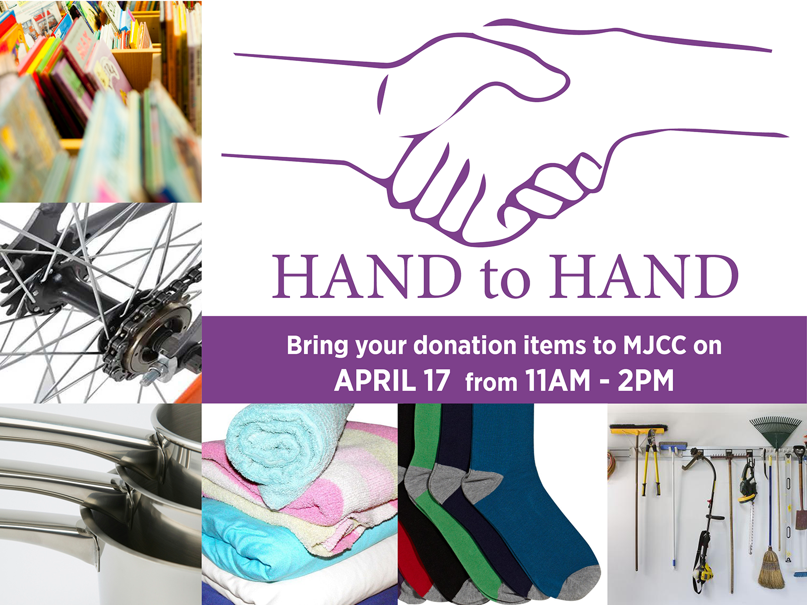 Hand to Hand Household Goods Drive