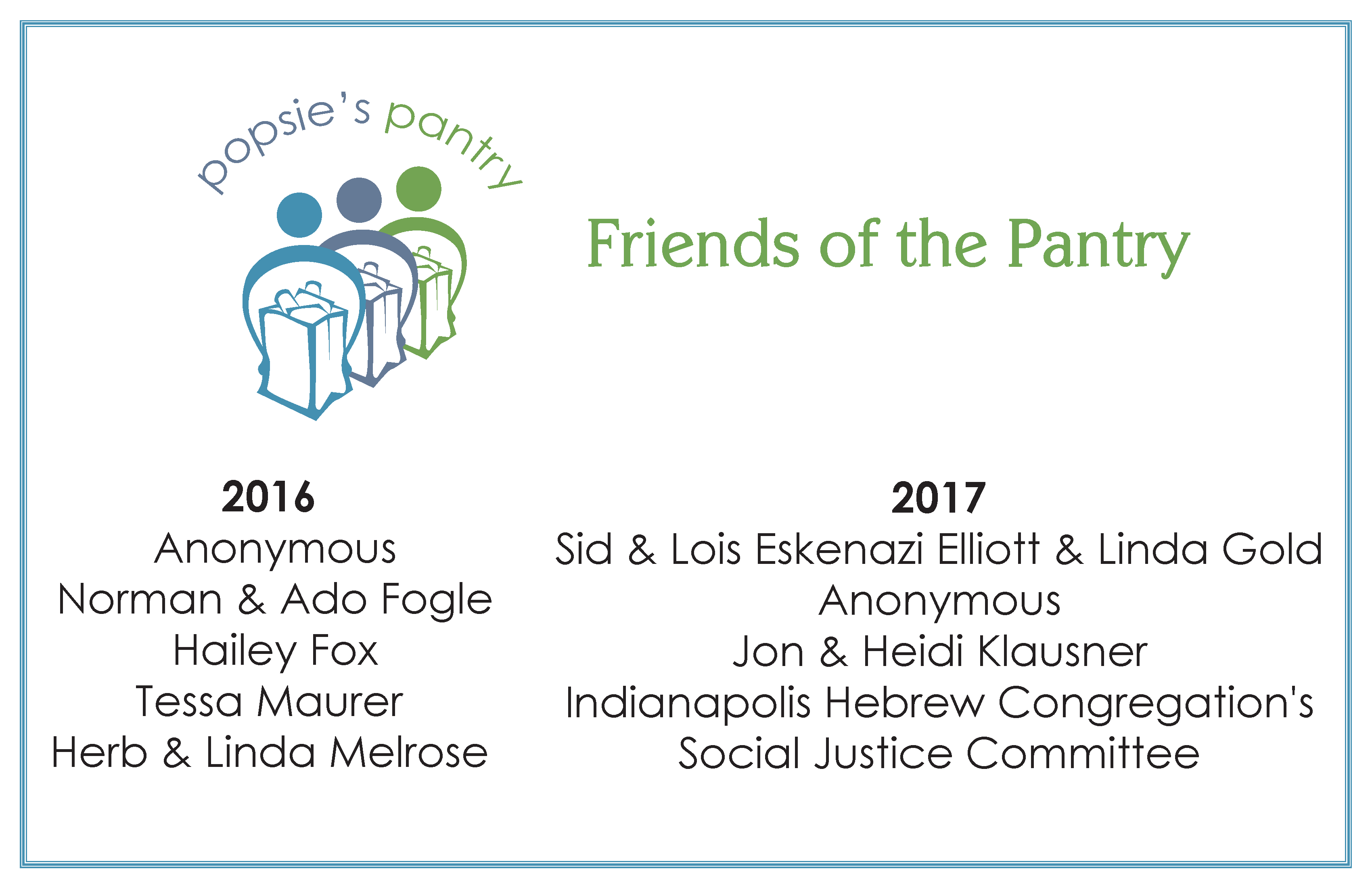 friends of the pantry 2017
