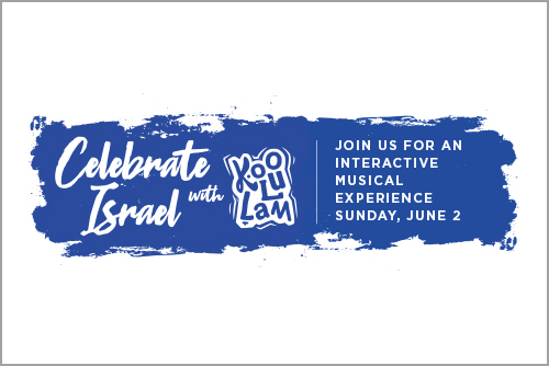 Celebrate Israel 2019 email module thumbnail