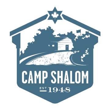 The logo for Camp Shalom