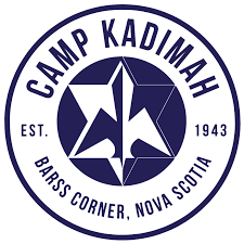 The logo for Camp Kadimah