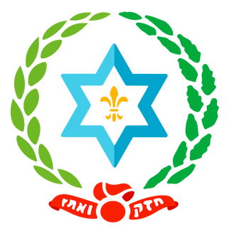 The logo for Camp Shomria