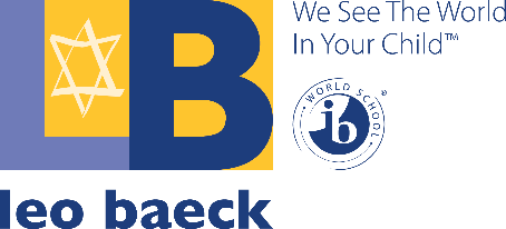 The logo for Leo Baeck