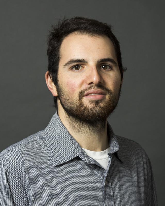 Color portrait of Matt Peterson