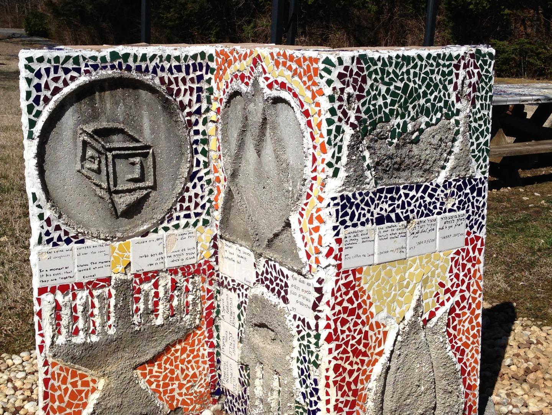 Camp Tikkun Olam Sculpture at AJCC