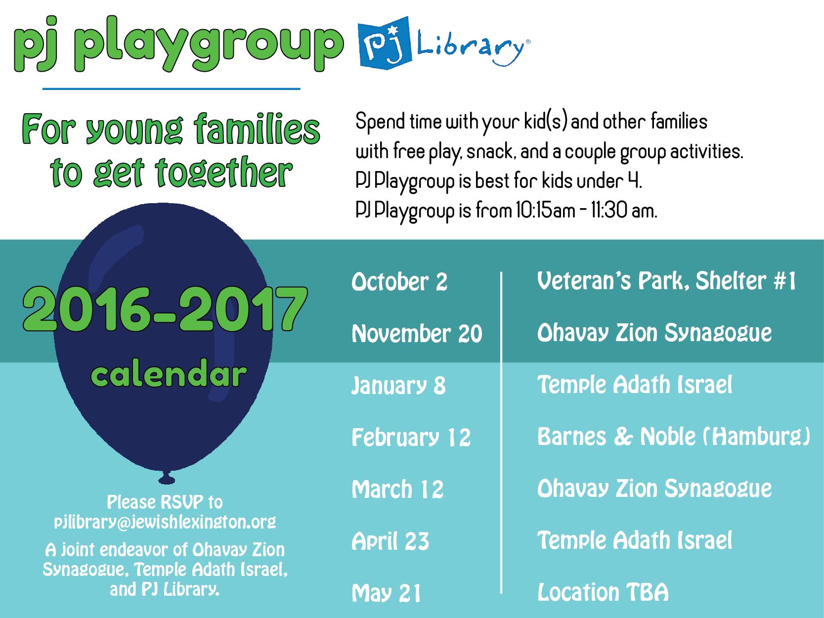 2016 PJ Playgroup Calendar.png