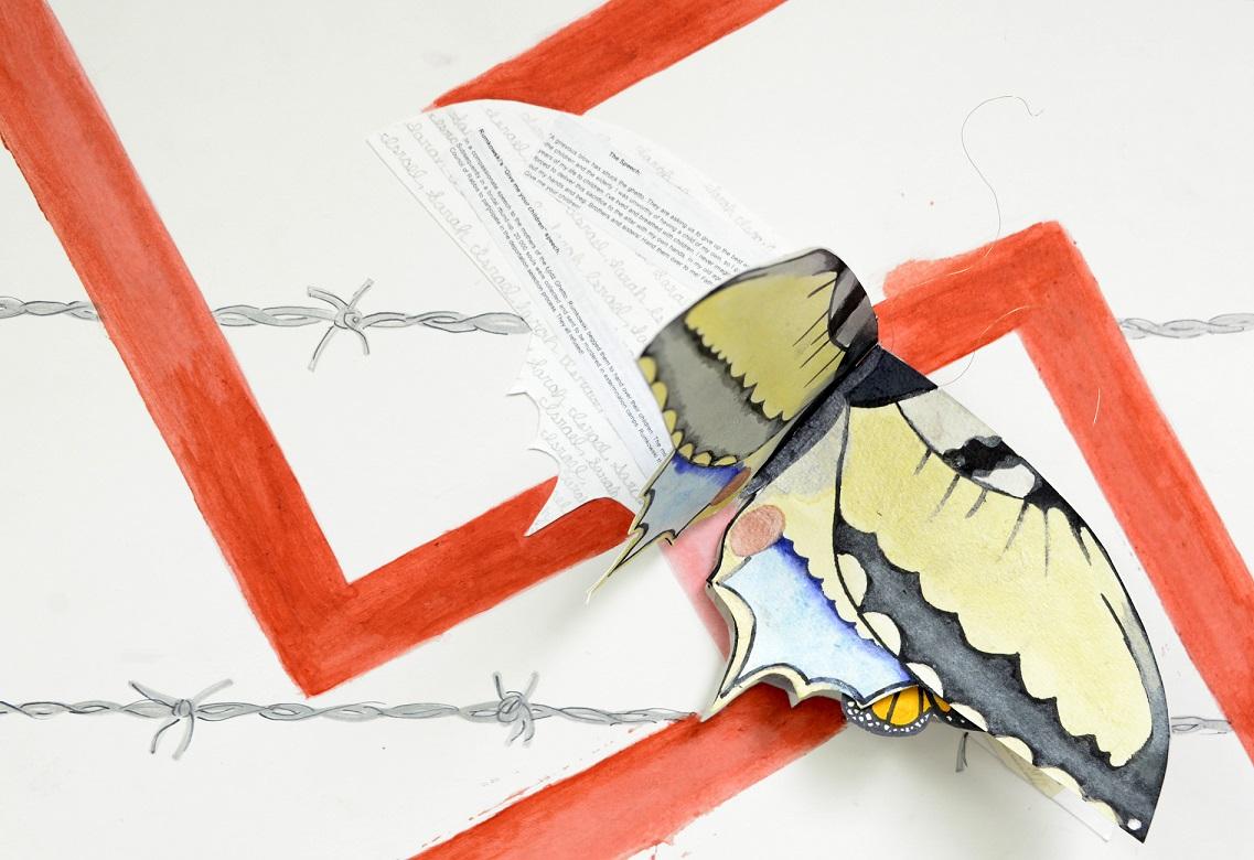 Persuasive Essays For High School  Art  Essay Winners High School Sample Essay also 1984 Essay Thesis Holocaust Art And Essay Contest   Jewish Community Partners Universal Health Care Essay