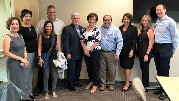 Eileen with board members