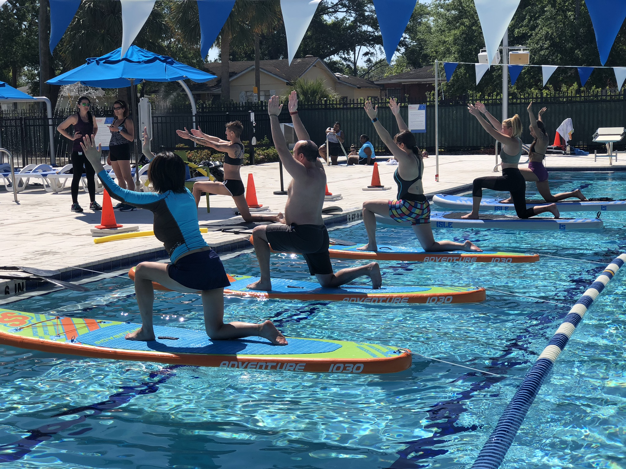 SUP Fitness Classes in Tampa