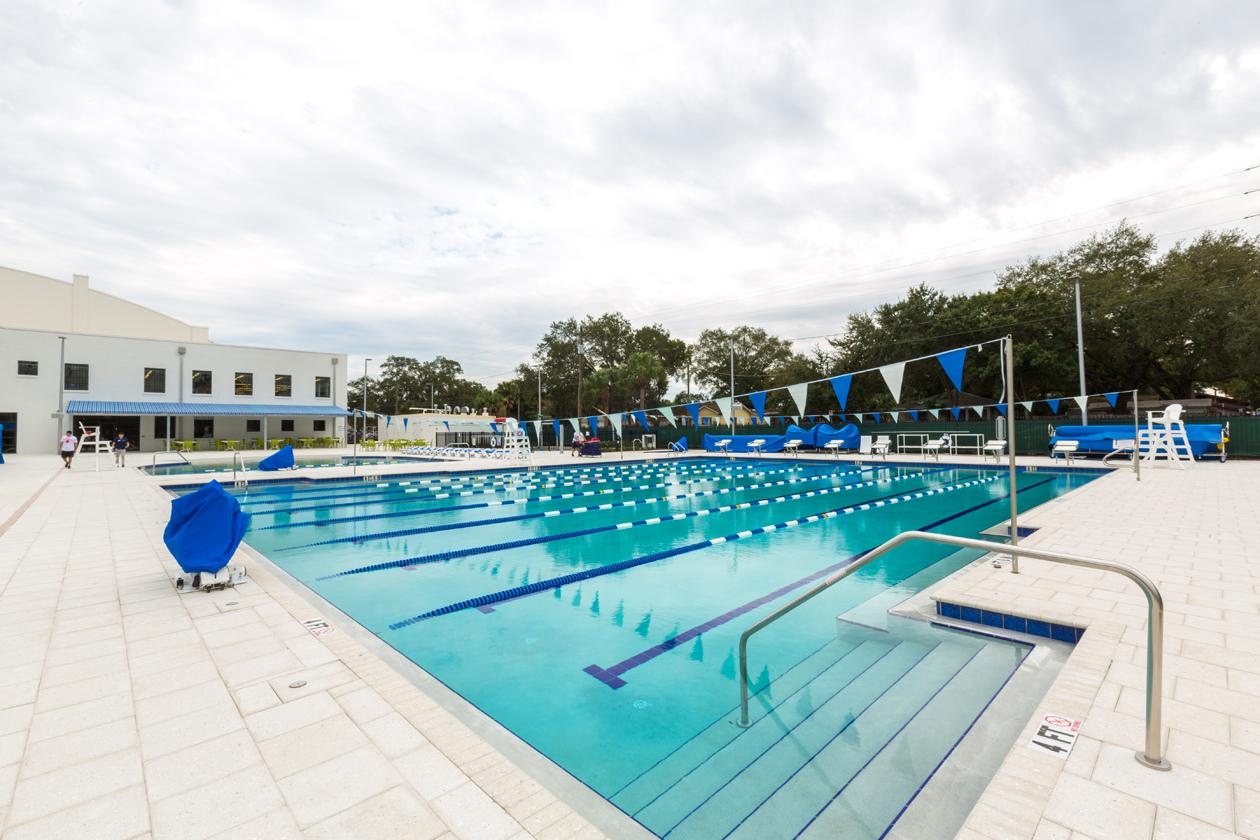 The Mezrah Family Aquatic Center Tampa Pools Swim School Pool Tampa Bryan Glazer Family Jcc