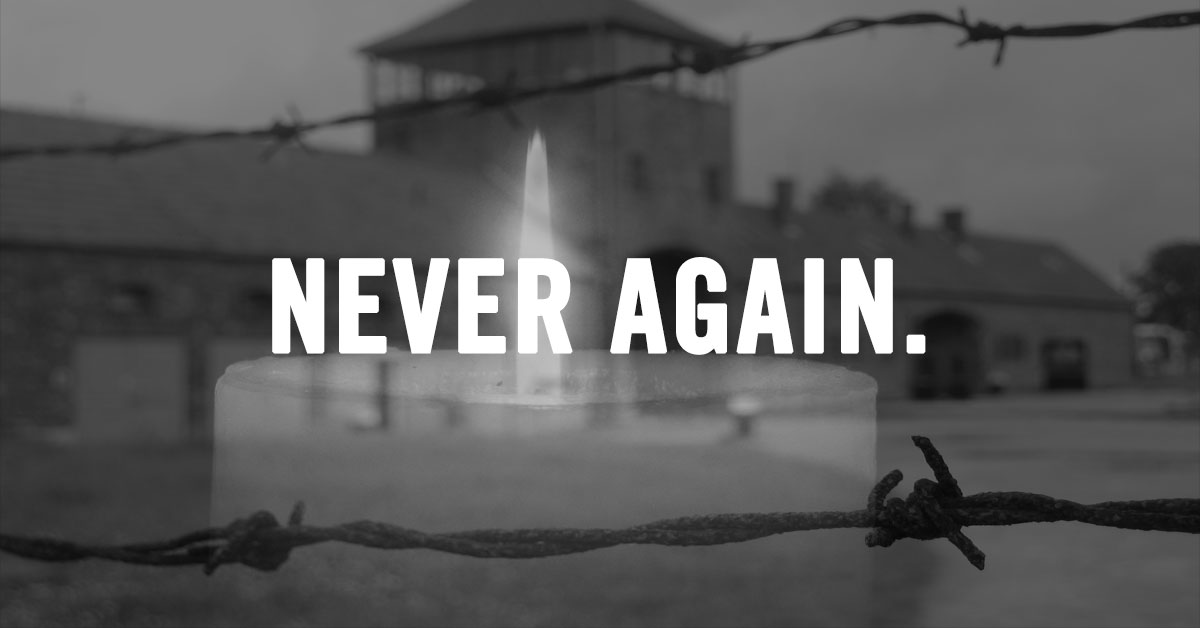 Yom HaShoah - Never Again